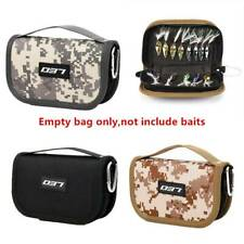 Fishing Bag Fishing Lure Container Bag For Lure Canvas Zipper Storage Case