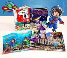 "Personalised Children's books (Using YOUR Child's Photo) ""Imagination"""