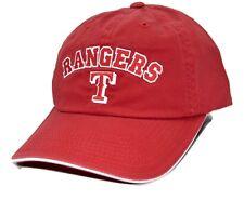 Texas Rangers American Needle MLB Cabana Adjustable Red Baseball Cap Dad Hat