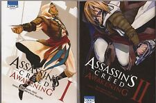 ASSASSIN'S CREED AWAKENING tomes 1 et 2 MANGA SEINEN série en français COMPLET