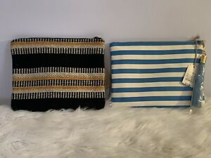 Universal Thread/ A New Day Make Up Bag Lot Of 2 NEW