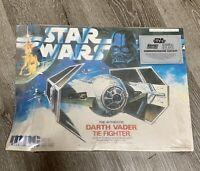 NEW Star Wars 1989 Darth Vader Tie Fighter MPC Model Kit Commemorative Edition