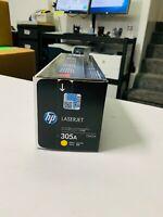 GENUINE HP CE412A 305A Yellow Toner LaserJet Pro 300 300MFP 400 400MFP NEW