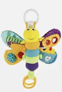 Lamaze Freddie The Firefly Toy Pram Clip On Newborn Sensory Toy
