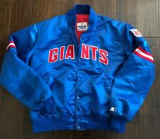 Vintage NEW YORK GIANTS Authentic Pro Line Starter Sewn Jacket Men/Adult XL
