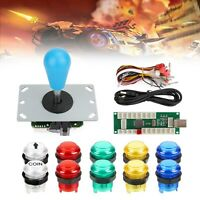 Player LED Arcade DIY Part Kit USB Encoder to PC Video Games Gamepads Joystick C