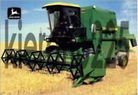 John Deere 1085 Combine Tractor Poster Sales Brochure A3