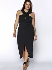 Unbranded Summer/Beach Solid Plus Size Dresses for Women