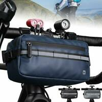 Cycling Bag Bicycle Bike Handlebar Bags Front Frame Tube Waterproof Front Basket