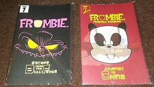 2012 Wondercon Frombie Series # 1 & 2 Escape From Bulli Frogs & Journey To China