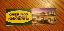 Gold Coast and The Orleans Las Vegas Coupon Books 12-30-17 over $100 Value