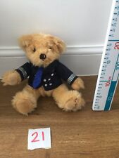 Thompson Holiday Teddy Bear Wearing Find Your Smile Jumper Pilots Outfit Miles