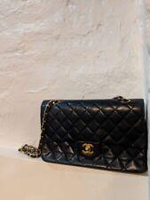 chanel classic flap bag medium Navy