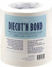 Diecut'N Bond Double - Sided Tape 4.72 inch x 82 feet - Clear - Ultimate Crafts