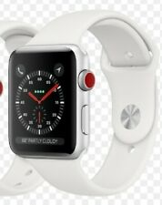 Apple Watch Series 3 GPS 38mm Silver Aluminum Case w/ White Sport Band ⭐Sealed⭐