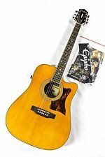 Epiphone Masterbilt DR-500MCE Acoustic/Electric Guitar - Natural