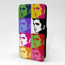For Apple iPod Touch Flip Case Cover Elvis Presley Pop Art - A150