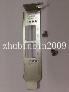 Low Profile Bracket for Qlogic QLE2672 QLE2662 QLE2692 16GB FC Dual Port HBA