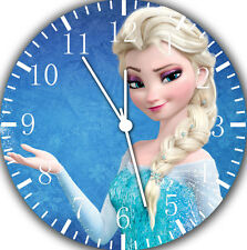 """Disney Frozen Elsa wall Clock 10"""" will be nice Gift and Room wall Decor A471"""