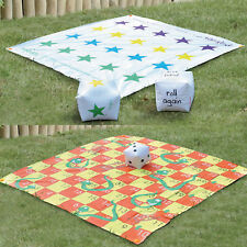 Garden Giant 2 in 1 Snakes and Ladders Tangled Twister Outdoor Game Fun Activity