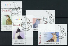 More details for namibia 2019 cto cuckoos african jacobin diderick cuckoo 4v set birds stamps