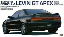 Toyota Corolla Levin Gt Apex Plastic Kit 1:24 Model HASEGAWA