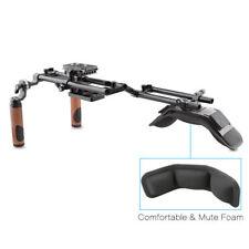 Camvate Canon Nikon Sony DSLR Camera Camcorder Shoulder Rig Kit W/ Arri Handle