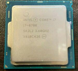 Processor Intel Core i7-6700 CPU 3,40Ghz LGA1151