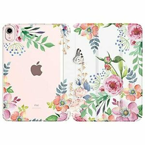 New iPad Mini 6 2021 Case Translucent Frosted Back Cover Smart Shell Stand Folio