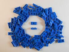 LEGO 1X2 PLATES. LOT OF 50. BLUE. BRAND NEW! FREE SHIPPING!