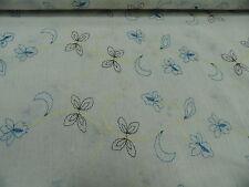 Tela de vestido Algodón Bordado Aprox. 135 cm de ancho 100% Algodón c.bordado