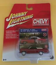 Johnny Lightning Chevy High Performance - 1969 Chevy Impala Convertible - RED