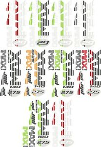 Stickers Decals for Cannondale Super Max Lefty Fork Trigger Jekyll