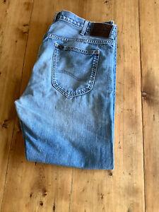 Lee Denim Jeans Blue W36 L32 classic trousers L5