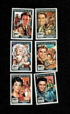 VINTAGE CLASSICS - Mali 1994 - Cinema, Movie Stars - Set of 6 Stamps - MNH