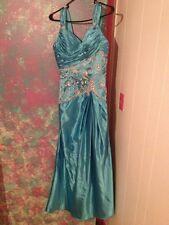 Blue prom dress Size 3/4 New Never Worn
