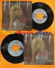 LP 45 7'' AMANDA LEAR Fabulous lover love me Oh boy 1979 italy ARIOLA cd mc dvd*