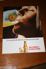 AF1=1972=BIRRA BEER WUHRER=PUBBLICITA'=ADVERTISING=WERBUNG=