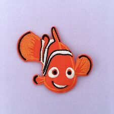 DISNEY FINDING NEMO FISH CHARACTER EMBROIDERED APPLIQUÉ PATCH SEW IRON ON #