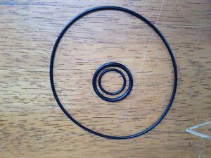 Victa O Ring Kit – Crank/Starter Seal, Carburetor to Manifold, Manifold to Inlet