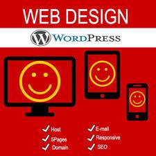 WordPress Website Design | Responsive Website | Web Design | Host , Email