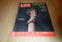 LIFE International Magazine 25 February 1963 - The New Europe