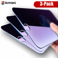 3x 3D Full Coverage Blue Ray Tempered Glass Screen For iPhone 6S 7 Plus 8 Plus +