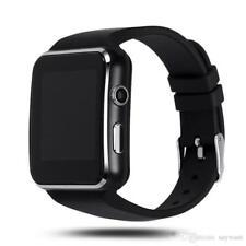 SmartWatch eckig schwarz Bluetooth Kamera SIM Slot und 32 GB für iOS apple
