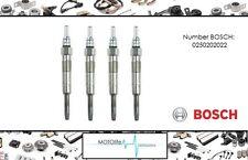 4x Bougie de préchauffage BOSCH Duraterm GLP003 0250202022 set 4-cylindre