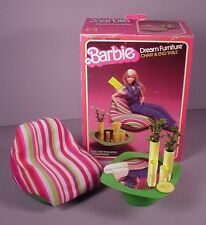 1978 Barbie Doll  Dream furniture for House #2468 Chair & Table in Box Mattel