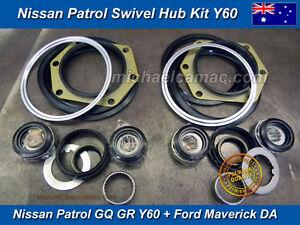 Swivel Hub Kit Nissan Patrol GQ Y60 GQ GR Y60 Ford Maverick DA Full SH13