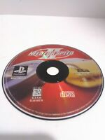 Need for Speed II (Sony PlayStation 1, 1997)  DISC ONLY Tested Fast Shipping