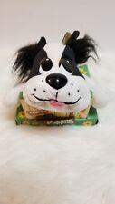 Mattel 2005 Pound Puppies Black And White Plush