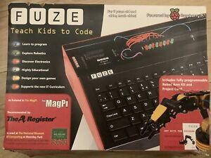 FUZE Basic Raspberry Pi With Robot Arm And Micro:bit Keyboard B+